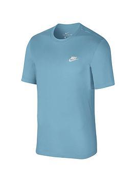 nike-sportswear-club-t-shirt-bluewhite