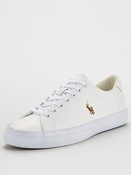 polo-ralph-lauren-longwood-leather-trainers-white