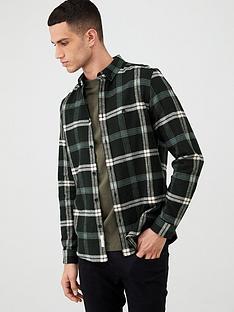 river-island-black-check-print-regular-fit-shirt