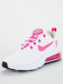 Nike Nike Air Max 270 React - White/Pink Picture