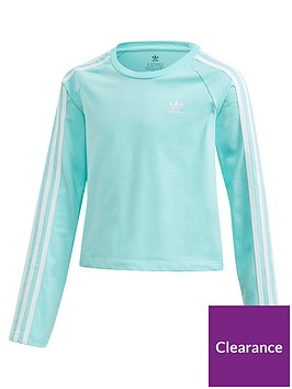 adidas-originals-childrens-3-stripes-long-sleeve-tee-light-blue