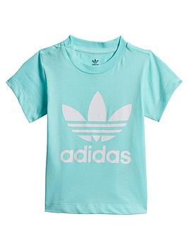 adidas Originals Adidas Originals Infant Trefoil Tee - Light Blue Picture