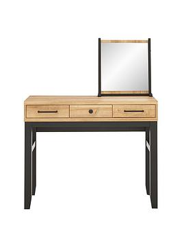 Very Dalston Dressing Table And Mirror Set Picture