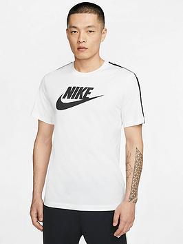 Nike Nike Hybrid Short Sleeve T-Shirt - White Picture