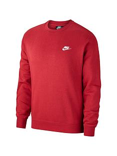 nike-sportswear-club-crew-neck-sweat-red