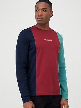 river-island-r96nbspcolour-blocked-long-sleeve-t-shirt-navy
