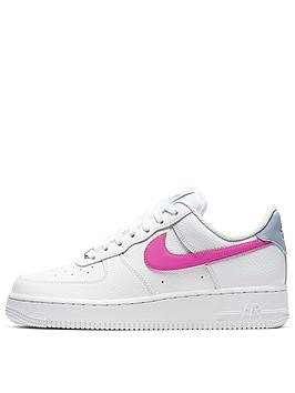 nike-air-force-1-07-whitepinkbluenbsp