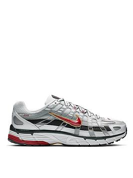 Nike Nike P-6000 - White/Red Picture