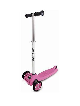 zinc-t-motion-tri-scooter-pink