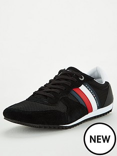 tommy-hilfiger-essential-mesh-runner-trainers-black