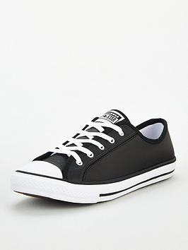 Converse Converse Chuck Taylor All Star Leather Dainty - Black Picture