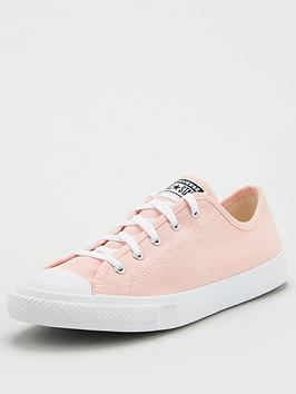 Converse Converse Chuck Taylor All Star Dainty Plimsolls - Pink Picture