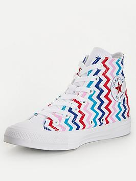 Converse Converse Chuck Taylor All Star Voltage Hi-Tops - White/Multi Picture