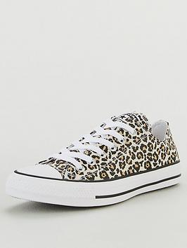 Converse Converse Chuck Taylor All Star Canvas Printed Ox - Animal Print Picture