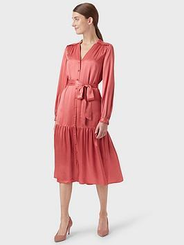 Hobbs Hobbs Esther Dress - Pink Picture