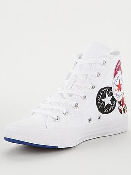 Converse Converse Chuck Taylor All Star Multi Logo - White Picture