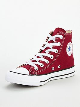Converse Converse Chuck Taylor All Star Hi Top - Burgundy Picture