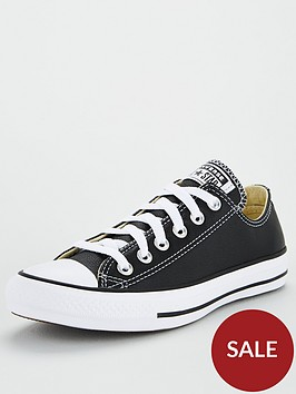 converse-chuck-taylor-all-star-leather-ox-black-white