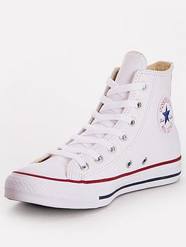 Converse Converse Chuck Taylor All Star Leather Hi Top Picture