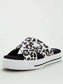 Converse Converse One Star Leopard Sandal Picture