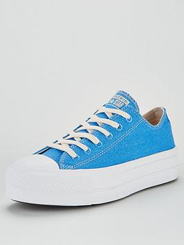 Converse Converse Chuck Taylor All Star Lift Renew Ox Trainer - Blue Picture