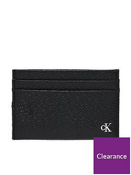 calvin-klein-jeans-monogram-card-case-black