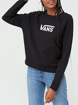 Vans Vans Flying V Boxy Crew Sweatshirt  - Black Picture