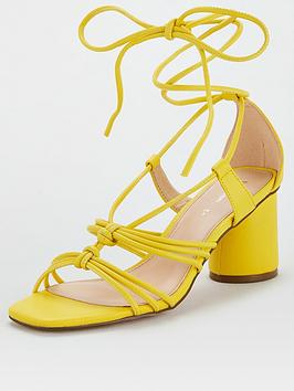 V by Very V By Very Brandi Rope Tie Sandal - Yellow Picture