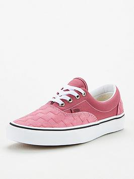 Vans Vans Era Deboss Checkerboard - Pink/White Picture