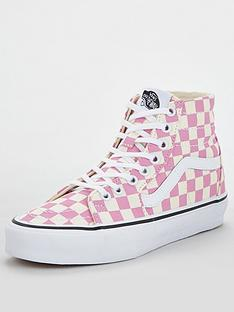 vans-us-sk8-hi-tapered-checkerboard-pinkwhitenbsp