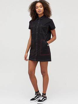 Vans Vans Thread It Shirt Dress - Black Picture