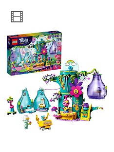 lego-trolls-41255-world-tour-pop-village-celebration-treehouse