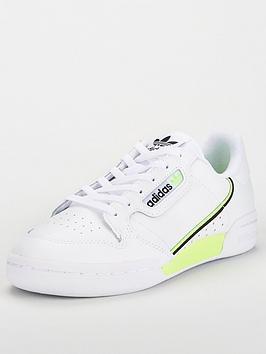 adidas Originals Adidas Originals Continental 80 Junior Trainer - White Picture