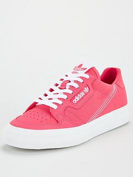 adidas Originals Adidas Originals Continental Vulc Junior Trainer - Pink Picture