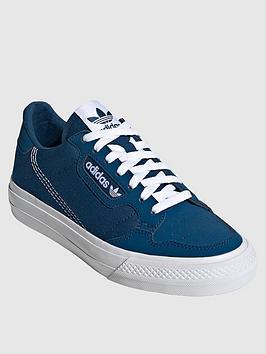 adidas Originals Adidas Originals Junior Continental Vulc Trainers - Blue Picture