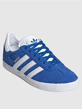 adidas Originals Adidas Originals Junior Gazelle Trainers - Blue Picture