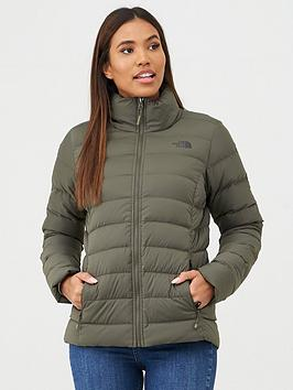 The North Face The North Face Stretch Down Jacket - Khaki Picture