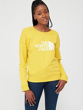The North Face The North Face Drew Peak Crew Sweatshirt - Yellow Picture