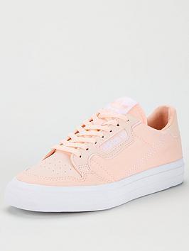adidas Originals Adidas Originals Continental Vulc Junior Trainers - Pink Picture