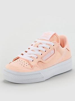 adidas-originals-continental-vulc-childrens-trainers-orange