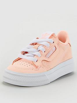 adidas Originals Adidas Originals Continental Vulc Infant Trainers - Orange Picture