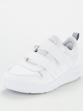 adidas-tensaur-childrens-trainers-white