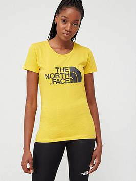 The North Face The North Face Short Sleeve Easy T-Shirt - Yellow Picture