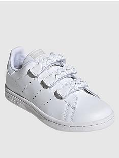adidas-originals-childrens-stan-smithnbsptrainers-white