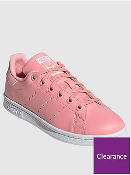 adidas-originals-juniornbspstan-smithnbsptrainers-pink