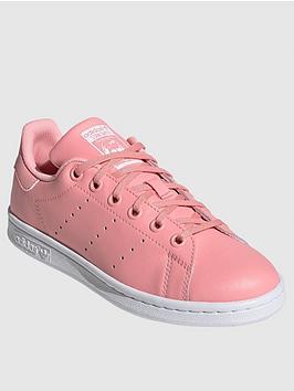 adidas Originals Adidas Originals Junior Stan Smith Trainers - Pink Picture