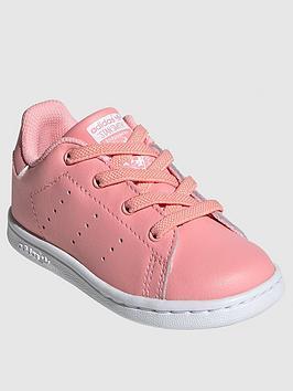 adidas Originals Adidas Originals Infant Stan Smith El I Trainers - Pink Picture