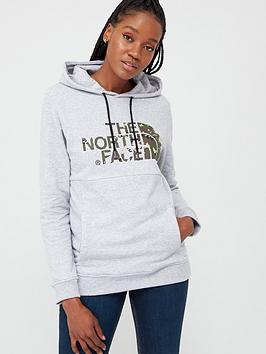 The North Face The North Face Drew Peak Pullover Hoodie - Grey Picture