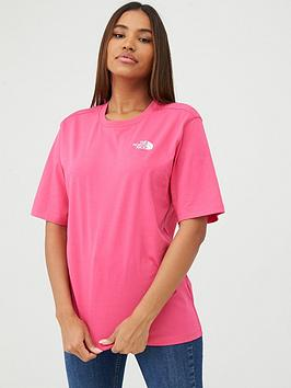 The North Face The North Face Bf Simple Dome Tee - Pink Picture