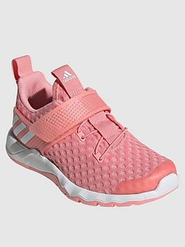 Adidas   Childrens Rapidaflex Summer Trainers - Pink